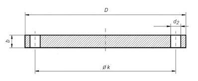 blind flange - ASTM A182 F317L Blind Flange 600NB 300LB