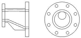 eccentric reducer - What are eccentric reducers