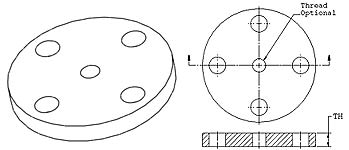reducing flange - What are reducing flanges