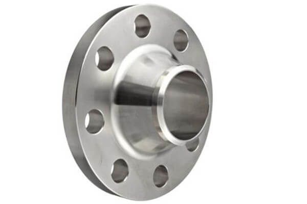 What is a weld neck flange