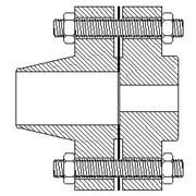 weld neck flange and reducing slip on flange - reducing weld neck flange and slip-on flange