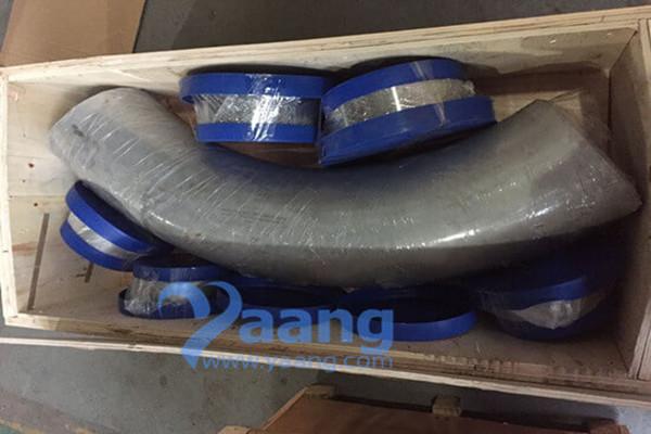 ASTM A790 UNS32750 GR2507 90 Degree 3D Bend DN200 SCH40S