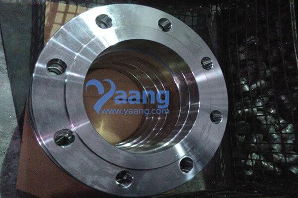 EN1092-1/01/B1 316L Plate Flange RF 12 Inch PN16