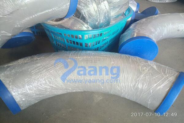 ASME B16.9 ASTM A403 WP321 Seamless 90DEG 3D Bend DN200 SCH10S