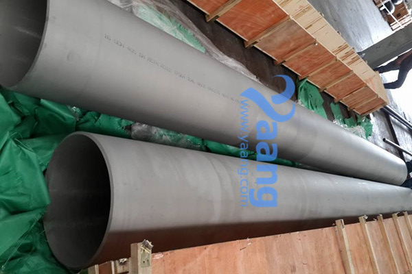ASTM A312 TP304 Welded Pipe DN400 SCH40S 6M