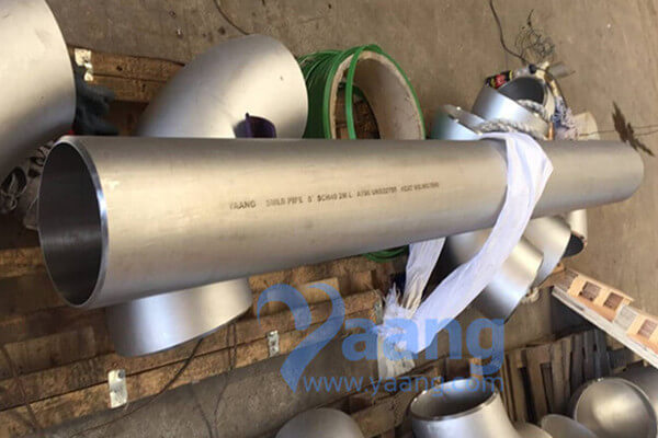 ASTM A790 UNS32750 Seamless Pipe DN200 SCH40