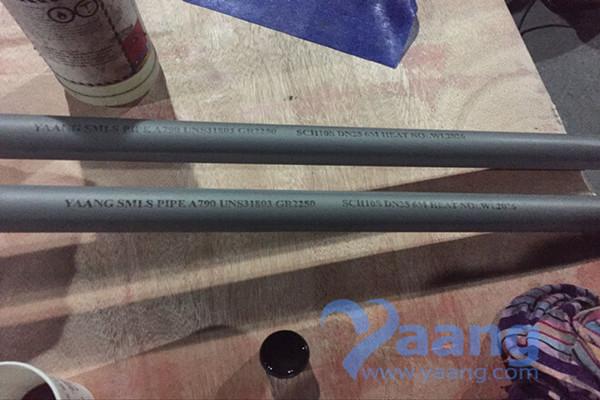 A790 UNS31803 GR2205 Duplex SMLS Pipe 1 Inch Sch10s