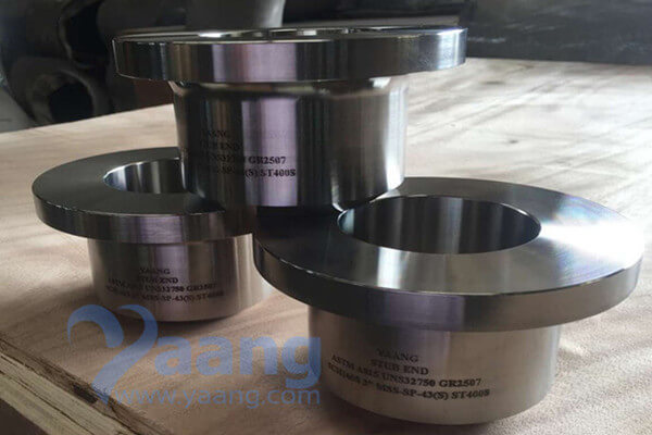 ASTM A815 UNS32750 GR.2507 Stub End 80NB SCH160S