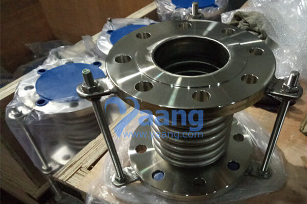 316 Bellow Expansion Joint Flanged 3 Inch PN10