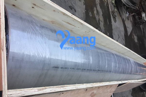 ASTM A790 UNS31803 GR2205 Welded Pipe 24 Inch THK9.53MM 6M