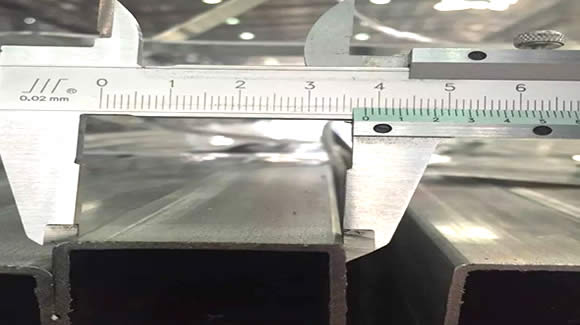 SHS measurement - What is a welded steel pipe