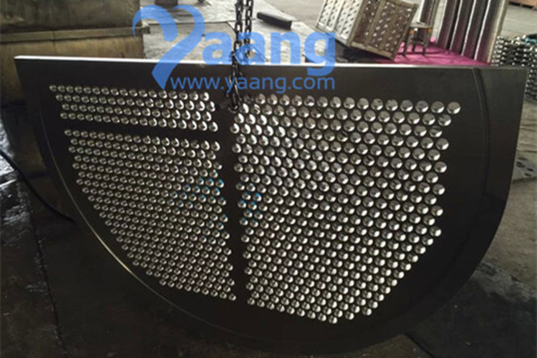 Duplex Stainless Steel 2205 Center Baffle Use For Heat Exchanger