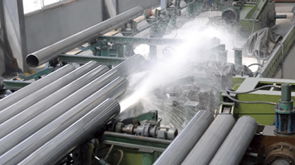 hydrostatic testing - What is a welded steel pipe