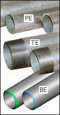 pipe ends - What is a welded steel pipe