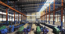 seamless process Cold Drawn Workshop - Knowledges of seamless steel pipes