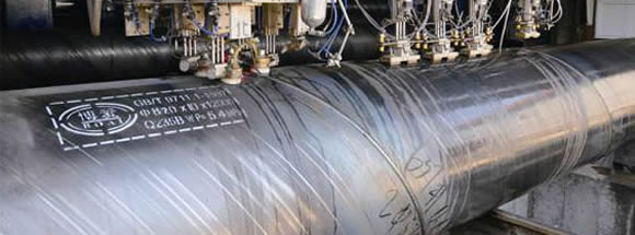 ssaw pipes banner - What is a welded steel pipe