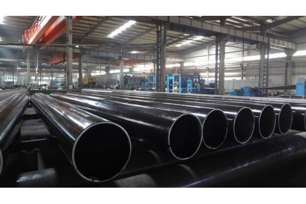 What is a welded steel pipe