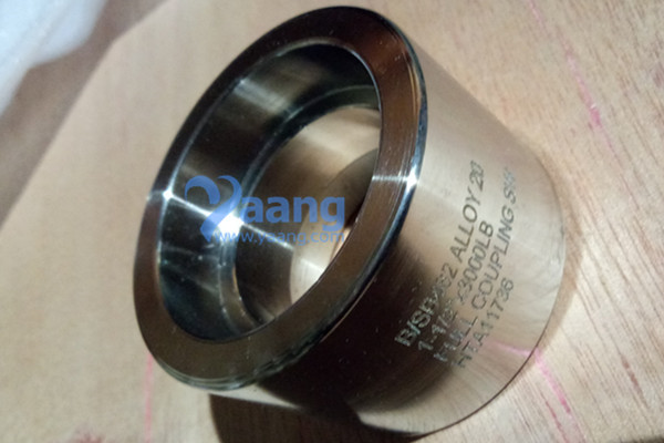 B/SB462 Alloy 20 SW Full Coupling DN40 3000LB