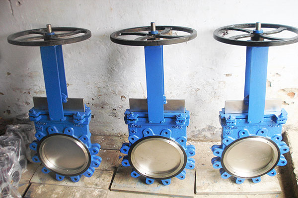 316 Lugged Knife Gate Valve Viton Seat 10 Inch 120 LB