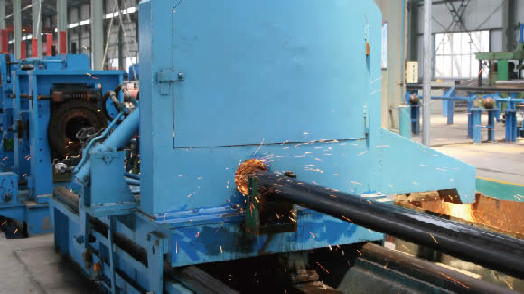 ERW cutting - How to make seamless steel pipe