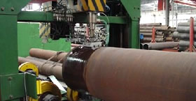 seamless process ultrasonic test on astm a335 p22 pipe - How to make seamless steel pipe