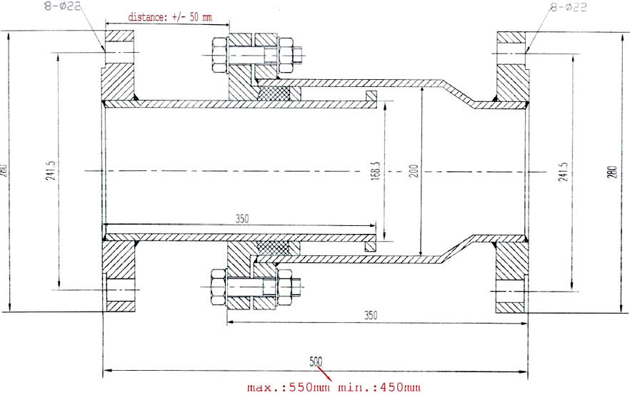 Sleeve Type Expansion Joints draw - What is an expansion joint