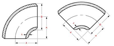 2018718814883575 - ASTM B366 UNS N08020 SMLS 60 Degree LR Elbow 2-1/2 Inch SCH40S