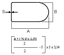 calculat ellipse pipe3 - How to measure a steel pipe and calculating steel pipe weight