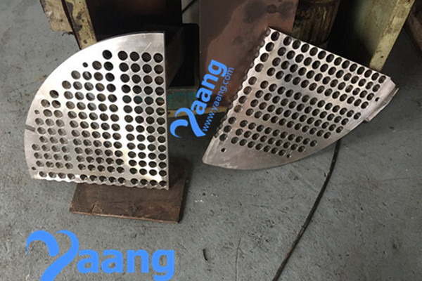 904L Baffle Two Pieces Use For Heat Exchanger