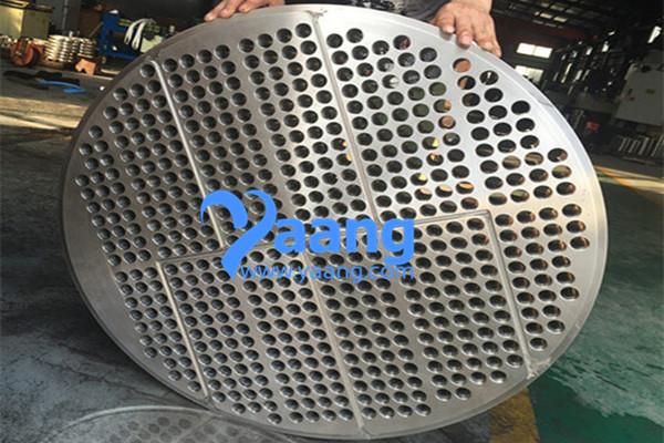 904L FLoating Tube Sheet OD: 934MM Use For Heat Exchanger