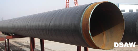 Double Submerged arc welded pipe banner - How to buy welded steel pipes?