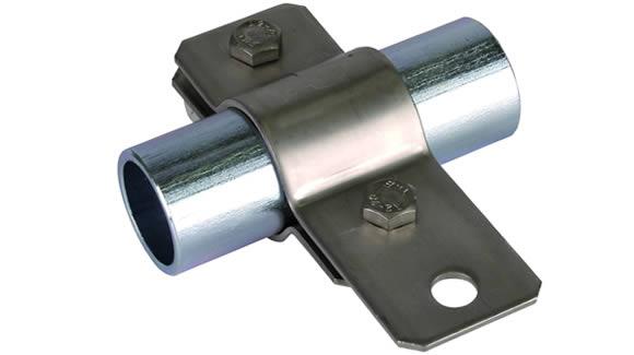 Pipe clamp - Galvanized Steel Pipe Vs black steel pipe