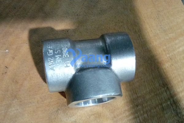 ASME B16.11 ASTM A182 2507 SW Equal Tee 1″ 3000#