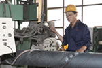 lincoln welder welding - How to get spiral steel pipes?