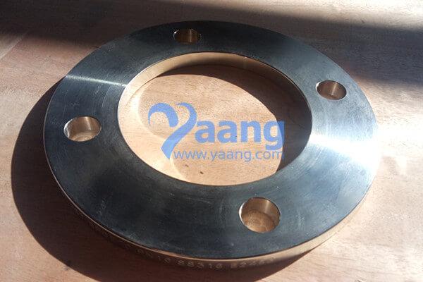 EN1092-1 Type 01 316L Plate Flange 2″ PN16