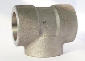 Socket weld Tee 300x215 - What are forged pipe fittings?