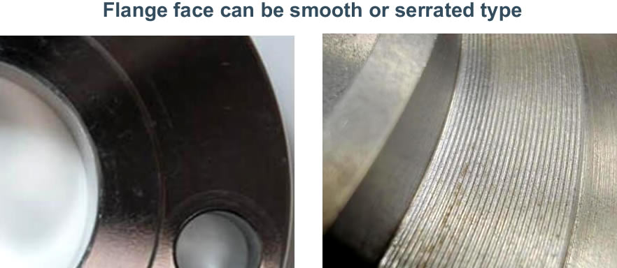Serration on the Flange Face - What are Steel Flanges?