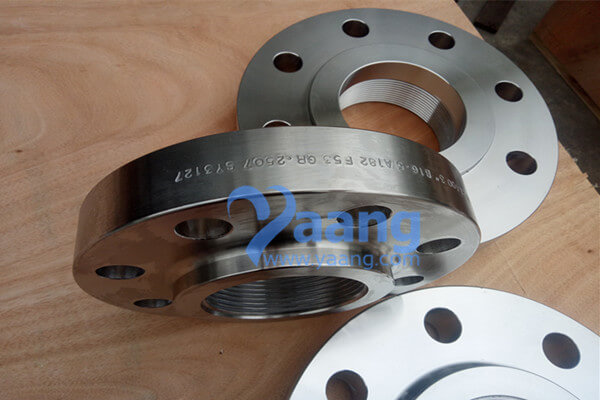 ASME B16.5 A182 F53 Threaded Flange RF 3 Inch CL600