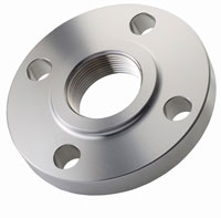 stainless steel raised face threaded flanges - stainless-steel-raised-face-threaded-flanges