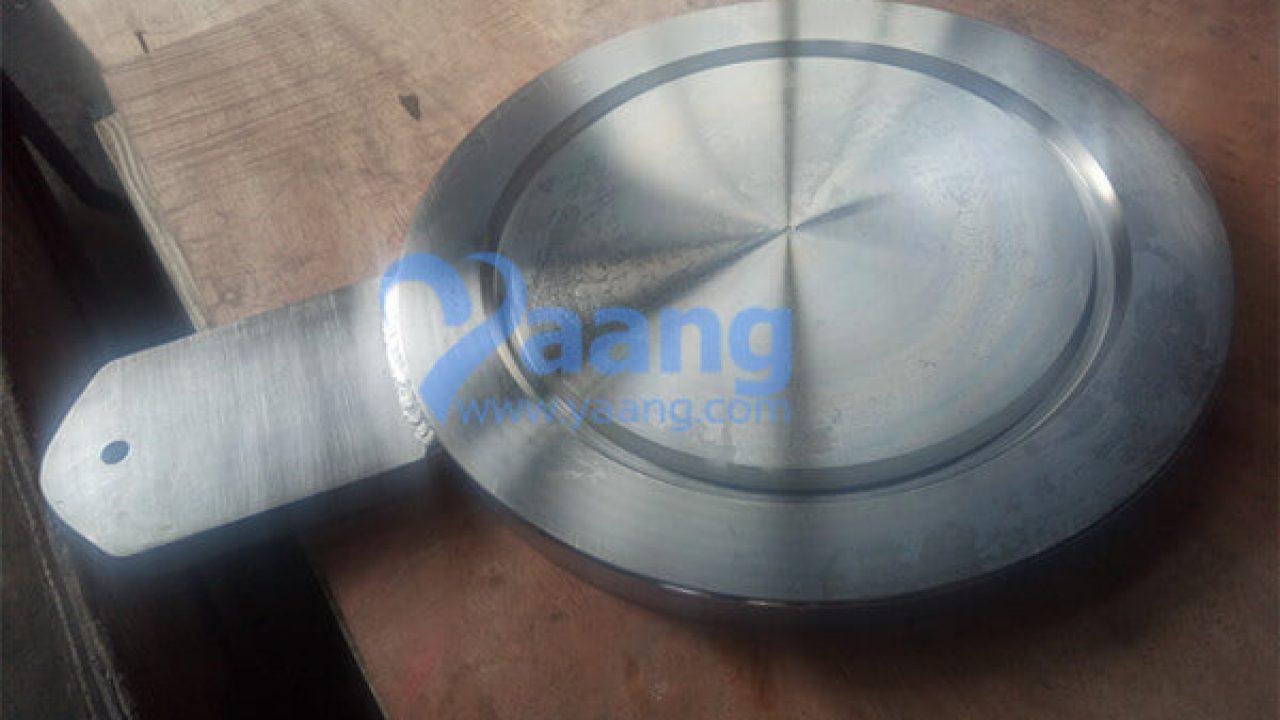 Asme B16 48 316l Spade Blind Flange Rtj 6 Inch 900 R45
