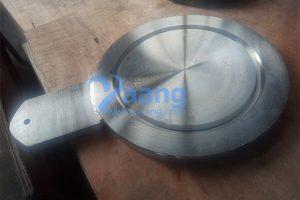 asme b16 48 316l spade blind flange rtj 6 inch 900 r45 300x200 - ASME B16.48 316L Spade Blind Flange RTJ 6 Inch 900# R45