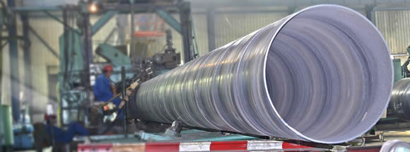 ssaw pipes banner - The difference between spiral submerged arc welded steel pipe and straight seam steel pipe