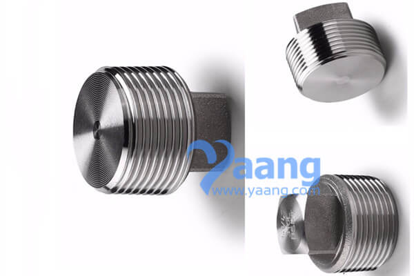 ASME B16.11 Threaded Square Head Plug