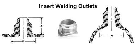 insertweldolet size - Steel Insert Weldolet
