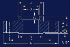 20190219041155 46670 - ANSI/ASME B16.5 Socket Weld Flange Dimensions
