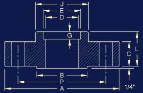 20190219041352 90630 - ANSI/ASME B16.5 Socket Weld Flange Dimensions