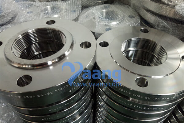 ASME B16.5 ASTM A182 316L Screwed Flange NPT RF 3 Inch CL150
