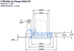 """20190324231413 36251 300x210 - ANSI B16.5 ASTM A182 F53 SORF Flange 2"""" CL600"""