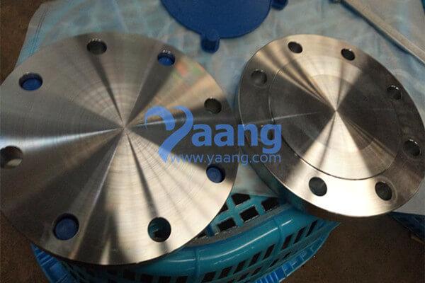 ANSI B16.5 ASTM A182 F53 Blind Flange RF 4 Inch 150#