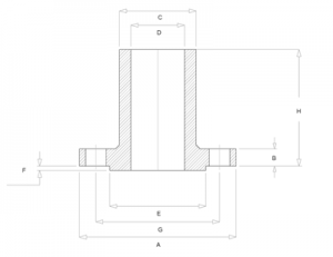 20190524230738 55248 300x231 - Long Weld Neck Flange Dimensions Class 300